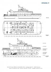 North Frisian Offshore Decksplan Gesa